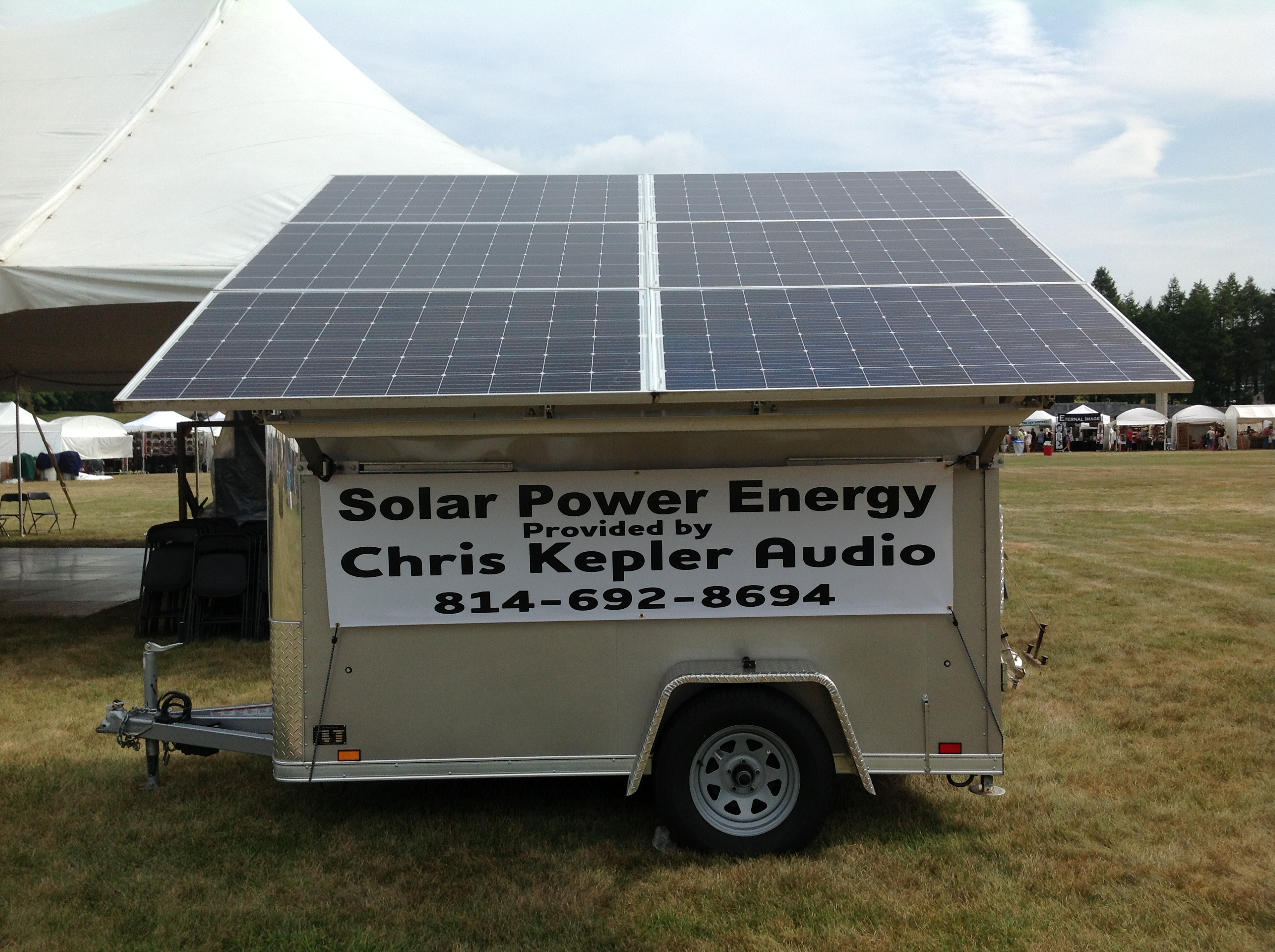 Solar Powered Generator : People's Choice Festival
